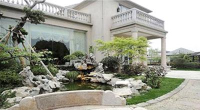 湖玺丘园1号绿化景观设计改造及施工