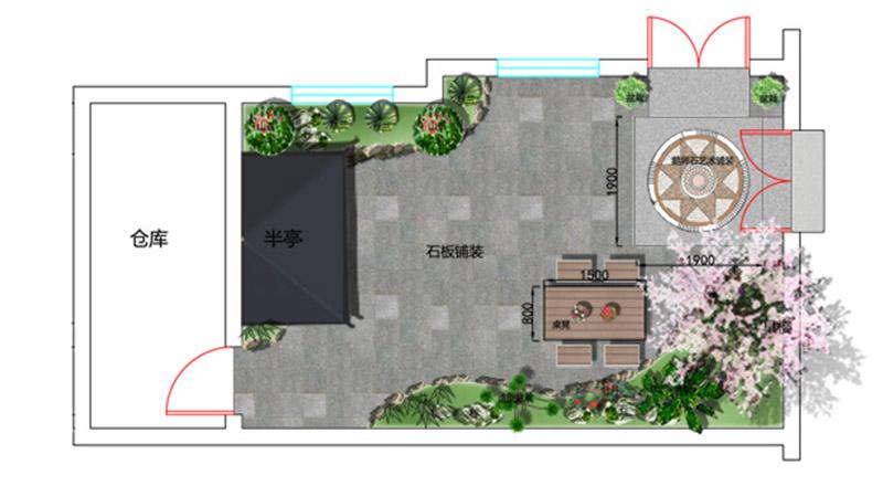 江南小庭院设计