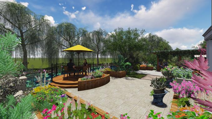 华府庄园景观设计