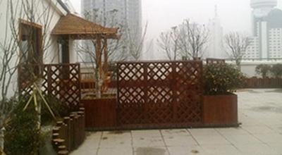 佳福大厦屋顶花园设计