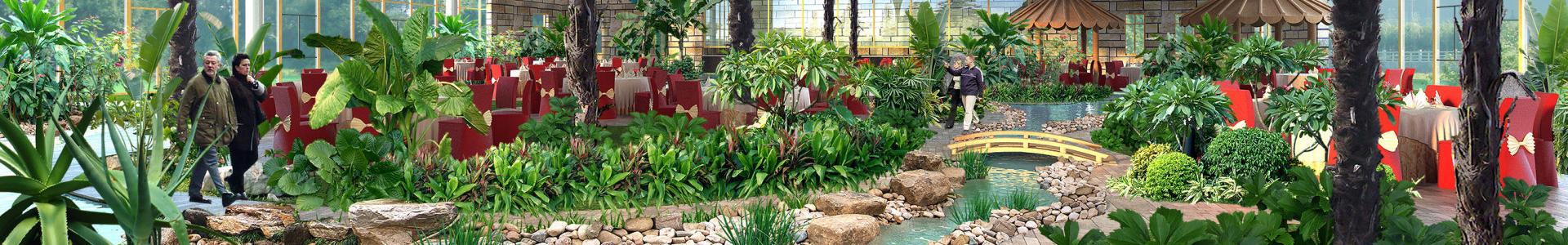 景观绿化养护效果